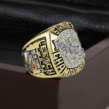 1994 NEW YORK RANGERS Stanley Cup Championship Solid Ring 10-13SIZE+WOODEN BOX