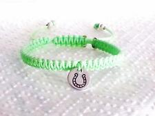 1 x Personalized Friendship Horse Shoe Good Luck Bracelet