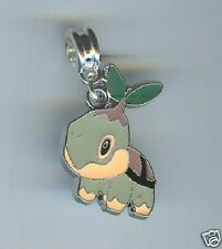 TURTWIG, PLANT, POKEMON fits European & CHARM Bracelets, CLIP ON, SLIDE - F723