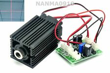 High Power 200mW 650nm 660nm Red Cross Laser Module w/ TTL Long-time Working