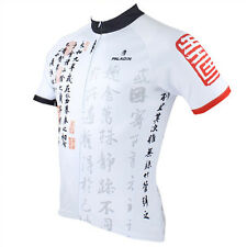 New Men Short Sleeve Cycling Jersey Bicycle Bike Rider Sportwear Apparel D062e