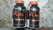 Two bottles Twinlab HMB Fuel Total 120 Capsules Fast Increase Lean Muscle Mass