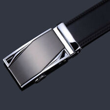 Waist Strap Genuine Leather Fashion Style Automatic Buckle Belts Men's Belts Hot