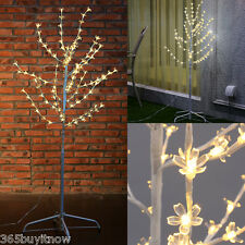Cherry Blossom 4FT 108LED Tree Light White Branches for Christmas Party Wedding