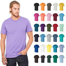 Bella + Canvas Unisex Short Sleeve Jersey T-Shirt Plain Blank Cotton 3001 XS-4XL