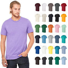 Bella + Canvas Unisex Short Sleeve Jersey T-Shirt Blank Plain Cotton 3001 XS-4XL