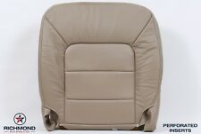 05 Ford Expedition Limited -Driver Side Bottom PERFORATED Leather Seat Cover Tan