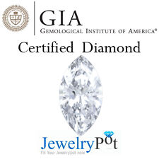 0.3CT H VS1 Marquise GIA Certified & Natural Loose Diamond (2151065194)