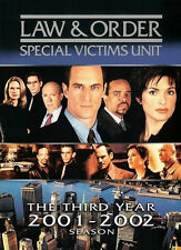 Law and Order: SVU Special Victims Unit: The Third Year (Season 3) DVD NEW