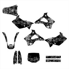 1994 1995 1996 1997 1998 KX125 KX250 graphics kit for Kawasaki #9500 Meta Zombie