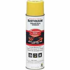 (12 PACK) RUSTOLEUM INDUSTRIAL CHOICE INVERTED MARKING SPRAY PAINT - ASST COLORS