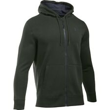Under Armour Storm Rival Cotton Mens Hoody Zip - Artillery Green All Sizes