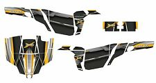 Can am Commander 800 1000 R XT graphics kit with Pro Armor Door #5600 Yellow