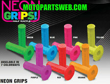 Pro Taper Neon Single Density Grips Dirtbike MX Kawasaki Suzuki Honda Yamaha KTM