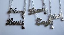 Pendant necklace first name of the group One direction + chain 48 cm