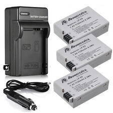 LP-E8 Li-ion Battery + Charger for Canon Rebel T2i T3i T4i T5i Kiss X5 EOS 550D
