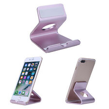Aluminum Desktop Station Mount Holder Phone Dock Cradle for iPhone for Samsung