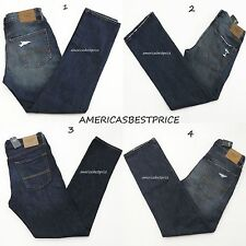 ABERCROMBIE&FITCH,A&F,NEW MEN'S BLUE JEANS, PANTS,NWT,HOLLISTER,RETAIL$78 - $98