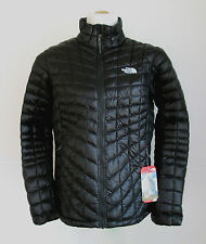 NWT North Face Womens Thermoball Insulated Jacket Full Zip TNF Black M L