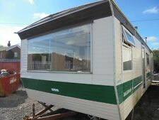 STATIC CARAVAN FOR SALE ABI DALESMAN 30FT X 10FT 2 BEDS NEW BOILER & COOKER