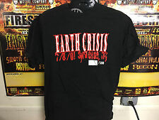 Earth crisis Path of Resistance  Straightedge  T shirt vegetarian drug free