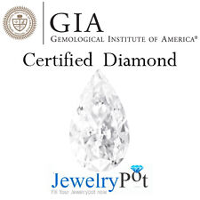 1CT I VS1 Pear GIA Certified & Natural Brilliant Loose Diamond (2155238525)