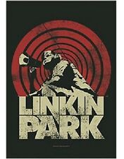 LINKIN PARK - LOUD & CLEAR LOGO - OFFICIAL TEXTILE POSTER FLAG