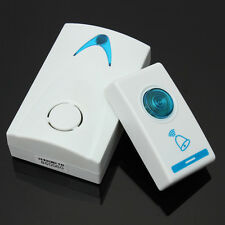 Portable Wireless Digital Doorbell 32 Tunes Remote Conrol Chime Cordless 100m