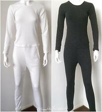 Ladies Crew Neck Merino Wool Blend Thermal Underwear 2pc Set (Sz 10-22)