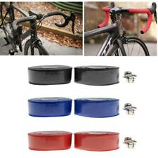 1 Pair Road Bike Bicycle Cork Handlebar Grip Wrap Tape + 2 End Plugs