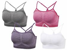 Ladies Seamless Sports bra sports Bustier BH Light Level New