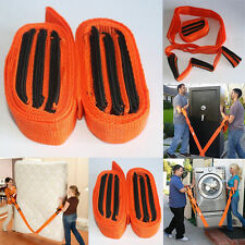 Forearm Forklift Lifting And Moving Straps Orange 2 In 1