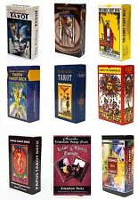 97 Variations of Tarot Card Deck Sealed English Instruction Booklet Lot New