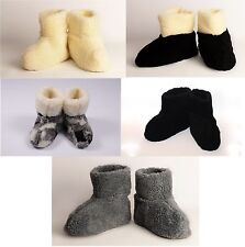 MEN NEW Sheep Wool Home 100% Shoes Warm House Indoor Outdoor Slippers Lot