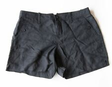 NWT Womens Calvin Klein Black Linen Shorts SIZES: 4,6,8,12