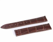 Genuine Leather Strap/Band for Omega Seamaster/Planet Ocean Watch 22mm BROWN