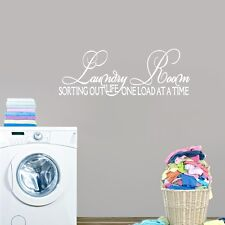 Laundry Room Sorting Out Life Wall Decals Wall Stickers