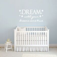 Dream Until Your Dreams Come True Wall Decals Wall Stickers