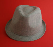 Checked mens trilby hat (small medium to large available) only £9.99