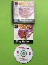 Actua Golf 3 Playstation 1 PS1 PAL Game + Disc Only Option + Works On PS2 & PS3