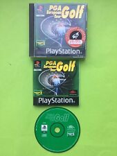 PGA European Tour Golf Sony Playstation PS1 PS2 PS3 PAL Game + Disc Only Option