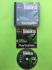 Tom Clancy's Rainbow Six PS1 Playstation 1 PS2 PS3 PAL Game + Disc Only Option