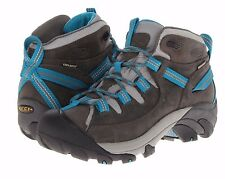 SIZE 9.5 Keen Womens Targhee II Mid Boots Waterproof leather hiking shoes NEW