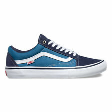 Vans - Old Skool Pro Mens Shoes Navy/White