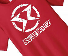 Surf Ratz Red Urban Surfer Skater Punk Tee Kids Boys Girls 100% Cotton T-Shirt