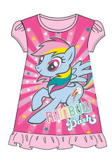 My Little Pony Nightie Pyjamas Nightdress Pink 2-8 Years