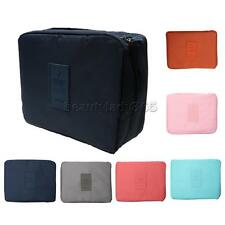 Outdoor Travel Cosmetic Makeup Bag Wash Toiletry Kit Organizer Storage Pouch