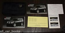 2007 07  Dodge Nitro Owners Manual Guide Set