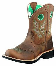 ARIAT - Women's Fatbaby Cowgirl - Powder Brown / Tan - ( 10010219 ) - New