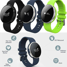 Fashion Bluetooth 4.0 Smart Watch Bracelet Heart Rate Monitor for IOS Android KI